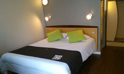 Double room at Campanile Saumur